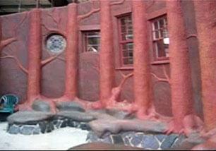 Rebuilding Center - Cob Wall