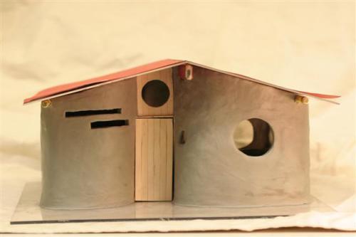 cob house model