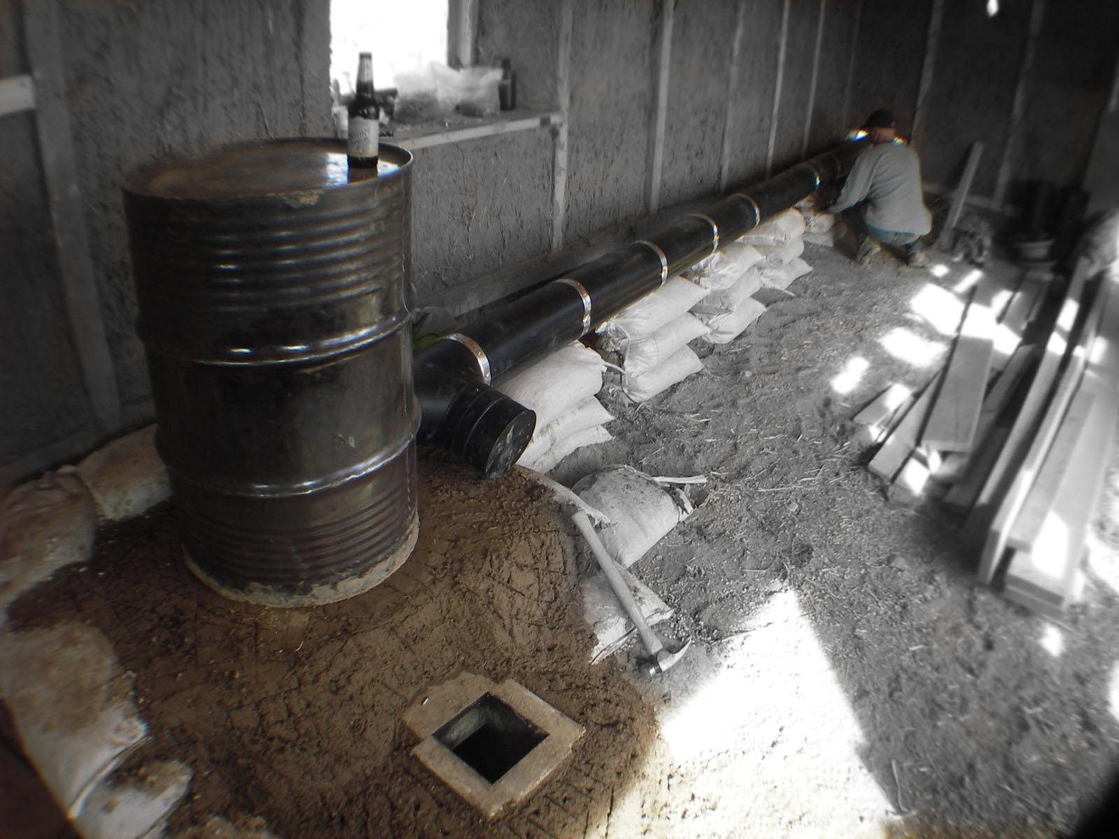 Solunit rocket i love cob for Rocket stove home heating